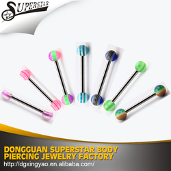 Professional product with wholesale tongue piercing