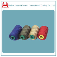 Colorful TFO 50/2 50/3 Plastic Core Dyed Polyester Yarn / Thread For Sewing Machine