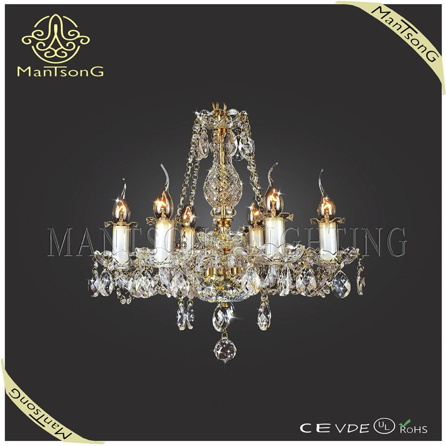 Wholesale New High Quality Candle Chandelier Glass Crystal