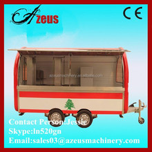 Electric fast food car / mobile buffet car / mobile ice cream cars