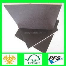 China shuttering plywood factory directly sale marine size anti-slip plywood plank