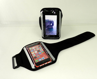 For Iphone For Samsung For LG For HTC NO MOQ Sport Neoprene Phone Armband