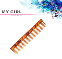 MY GIRL hot deal travel use double color plastic tortoise best laser hair comb
