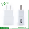 Single usb travel charger for samsung, EU travel charger