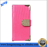 For iphone 6 embossed case,leather material outside with electroplating plastic case inside