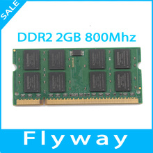 OEM Full Compatible All Motherboards DDR2 2GB 4GB RAM Computer Memories with Original Chipset for Laptop