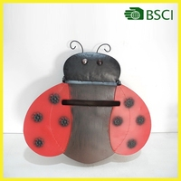 Ladybird antique designer apartment outdoor american metal mailbox for letters