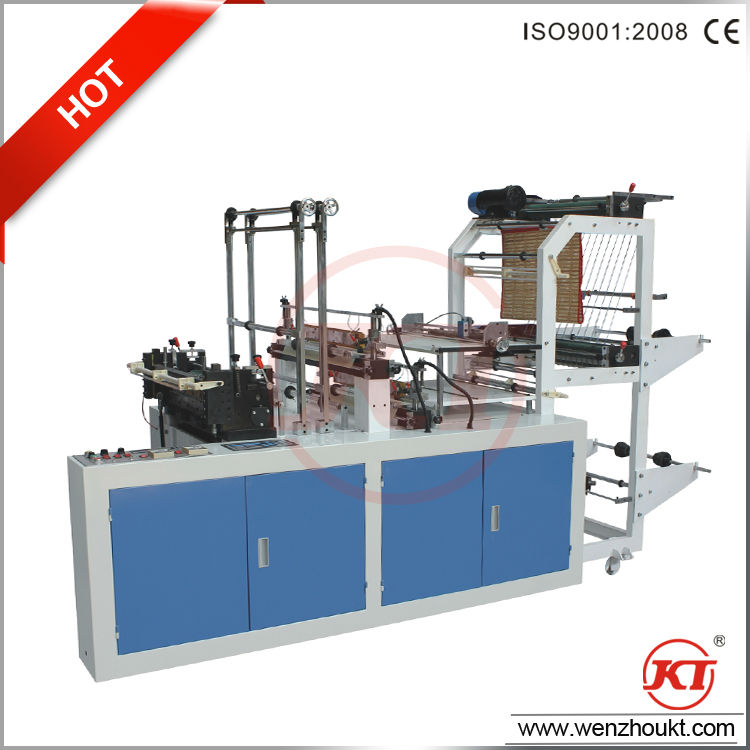 double layer cool cutting bag making machine