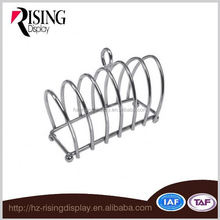 Chrome Plated 6 slice Victoriam Style bread toast rack