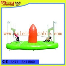 Much fun new design outdoor interactive inflatable game for adults playground equipment