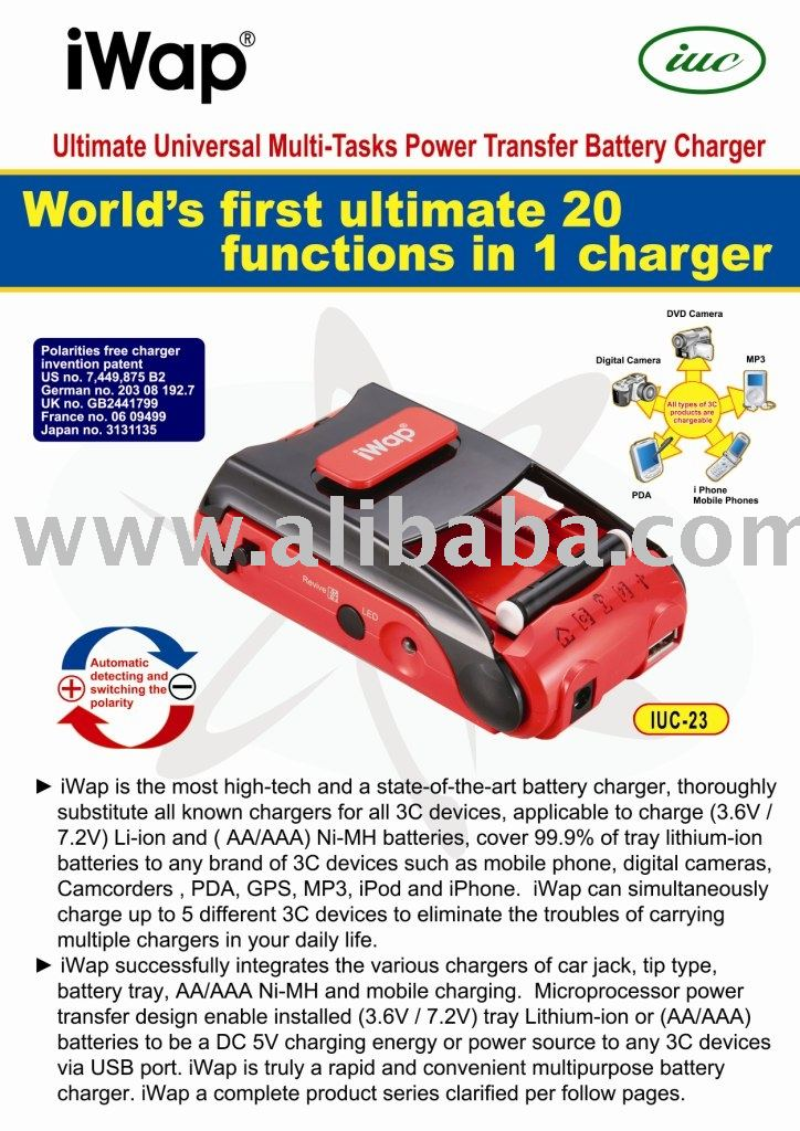 Iwap Universal cargadores