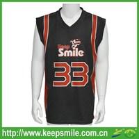 Custom Sublimation Printing Basketball Jersey