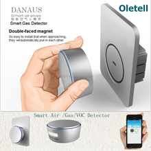 High-end Smart Air Quality Sensor Alarm For Home Security Alarm System