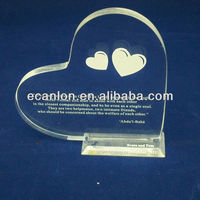 Heart-shaped Acrylic arts and crafts
