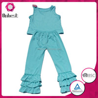 persnickety super fashion wholesale toddler sets pure color girls boutique clothing wholesale ruffle pants for adults