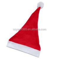 Adult Child Christmas Hat Caps Santa Claus Father Xmas Cotton Cap Christmas Decoration Gift