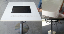 TW stain resistance new modern restaurant hot pot table