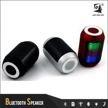 bt600 speaker bluetooth with led light and usb port and fm radio for laptop,computer,mobile phone or any portable audio player