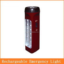 14+5 LED torch light rechargeable battery