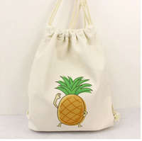 Italian Designer Shoes And Bags Cheap Wholesale Cotton Muslin Drawstring Shopping Bag