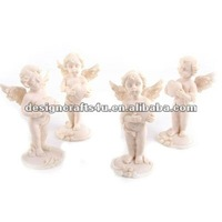 Polyresin Little Standing Angels Wedding Table Decoration