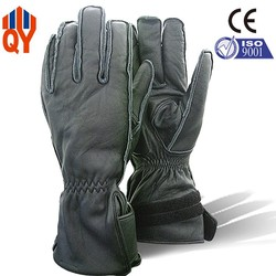 Sheepskin Leather Winter Racing Riding Motorcycle Gloves
