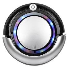 smart vacuum cleaning robot/remote control home appliance K6L/Robotic Vacuum Cleaner K6L with LED Light, Multiple Modes