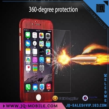 Factory direct selling 360 degree full protective pc hard case for Apple iphone 6 i6 plus