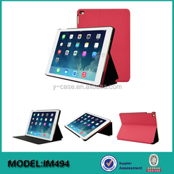 Flip PU leather case for iPad mini 4, for iPad mini 4 stand leather case