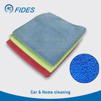embroidered fast dry micro fibre towel window room clean