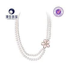 Wholesale freshwater pearl necklace/Sweater chain pearl necklace design