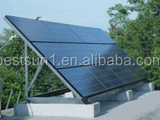 500 to 5000W for all family 4KW monocrystal solar panel