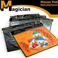 square shape gaming mouse pad for game player