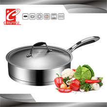 best selling hot chinese products stainless steel wok pan