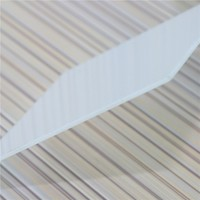 lexan polycarbonate embossed solid sheet ceiling polycarbonate price