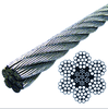 1x7,7x7,1x19,6x36,7x19,1x37,7x37 Offshore/Hoisting/Cableway/Tensostructure/Mining Stainless Steel Wire Rope/Aircraft Cable