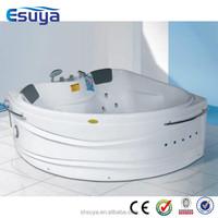 romantic white color massage heart shape bathtub