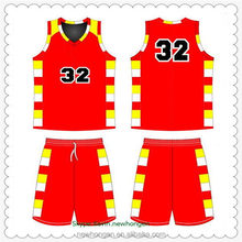 Low price hot sell basketball cheering uniform