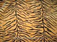 tiger print fake fur fabric