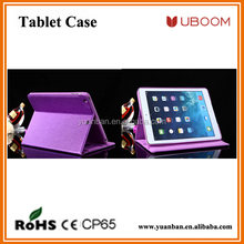 purple color tablet case with stand function with sleep function