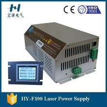 F100 LCD Intelligent Laser Power Supply 100w