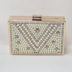 hot seller ladies clutch beaded bag new fashion