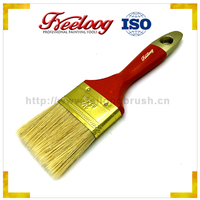 Good Price Textured excellent quality Poplar wood handle wall paint brush