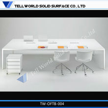 alta calidad caliente modelo de persona 2 escritorio de la oficina por parte de china proveedor