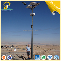 Hot Sales In Africa 3 years Warranty CE SASO SONCAP Certificated 60w LED Solar Street Light Price List