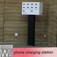 mobile phone charging station 9 docks 2014 new design desktop valet charging station