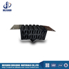 Concrete building wall elastic rubber expansion joint filler with aluminum base