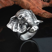 New style stainless steel fashion casting elephant ring