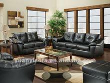Modern furniture sofa, 3 2 1 seater PU sofa set for living room YL1027B