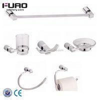 FUAO High quality goods green bathroom accessories set glue